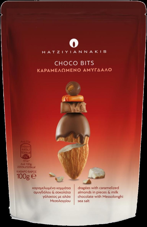 Choco Bits Καραμελωμένο Αμύγδαλο